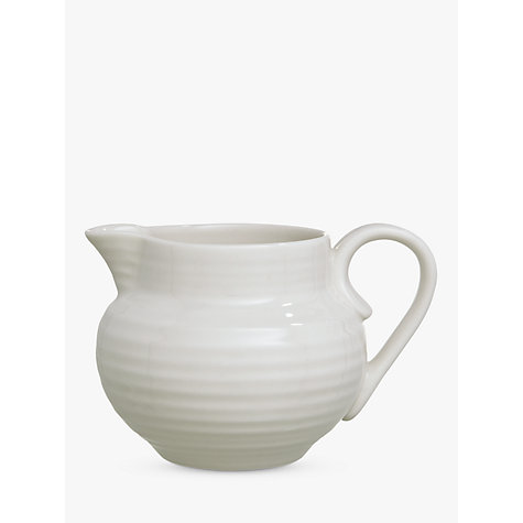 Buy Sophie Conran for Portmeirion Cream Jug, White, 0.28L Online at johnlewis.com