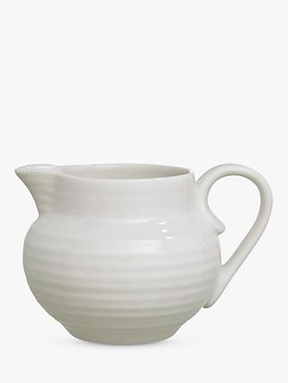 Sophie Conran for Portmeirion Cream Jug, White, 280ml