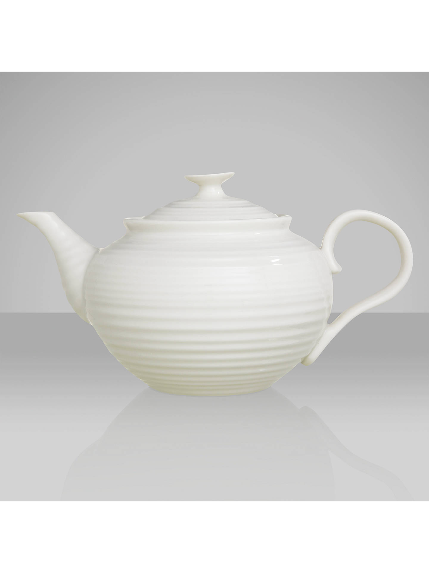 BuySophie Conran for Portmeirion Teapot, 340ml, White Online at johnlewis.com