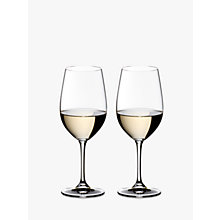 Buy Riedel Vinum Chianti / Riesling Glasses, Set of 2 Online at johnlewis.com