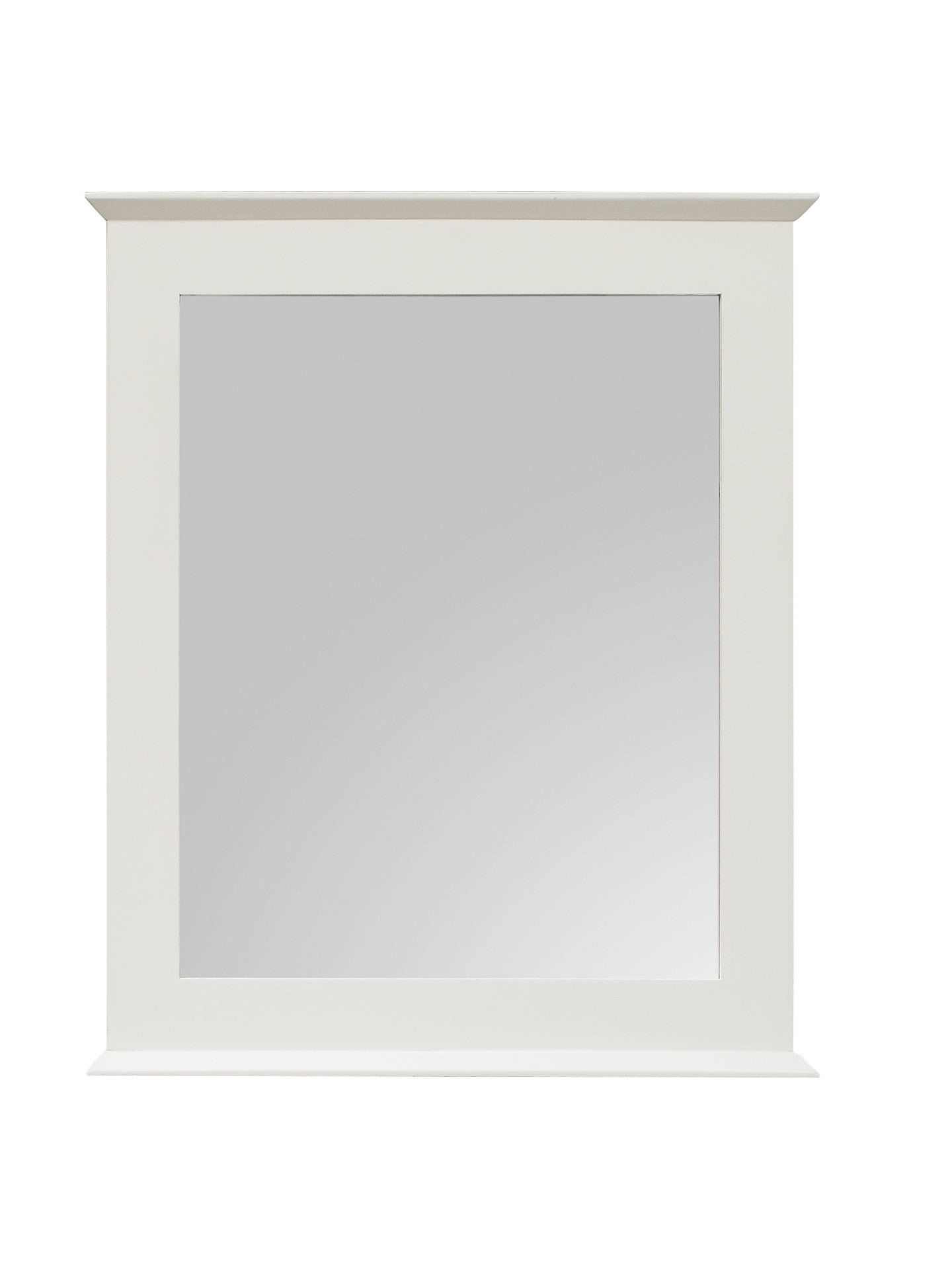 Buy John Lewis & Partners St Ives Mirror, White Online at johnlewis.com