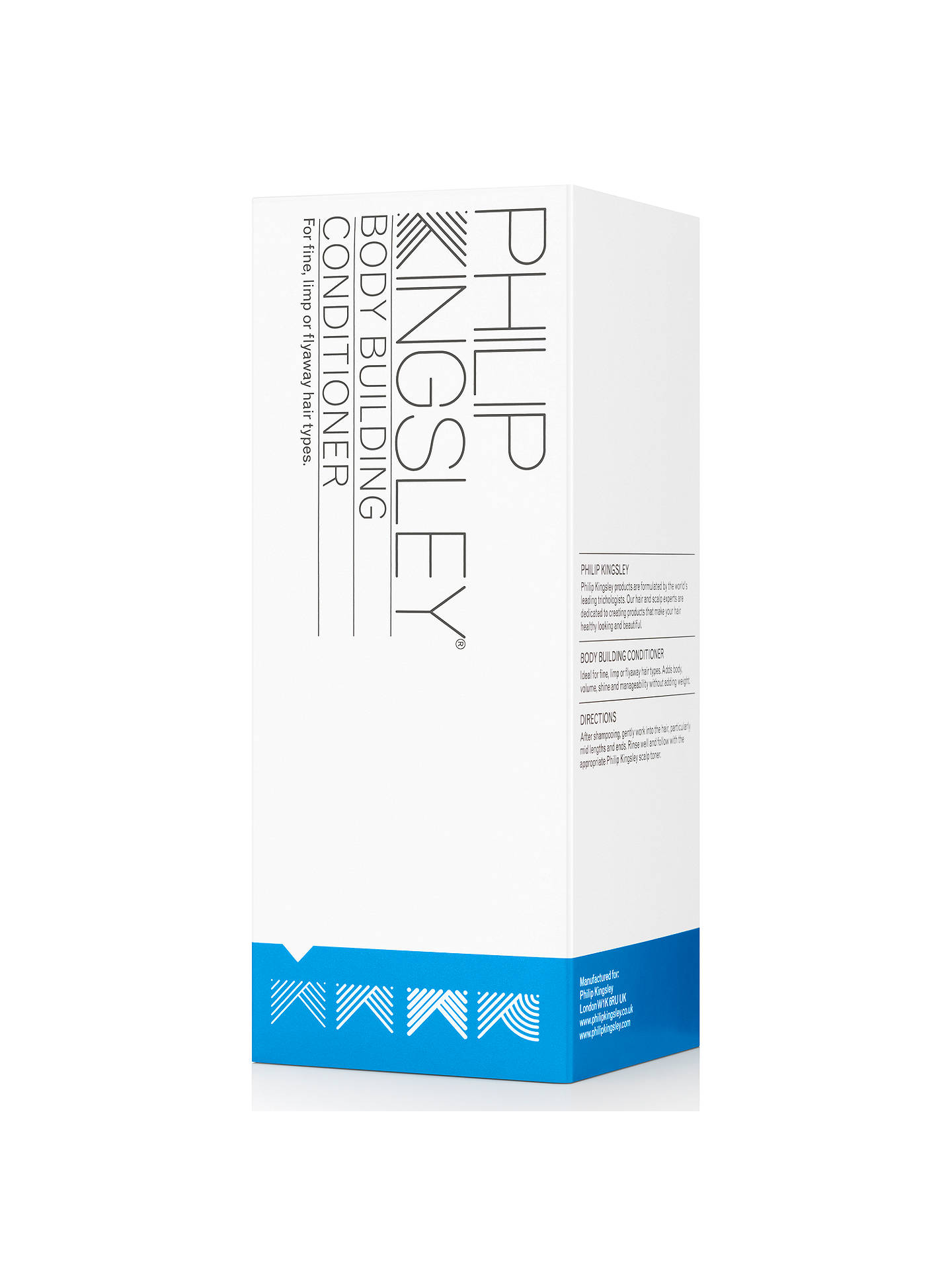 BuyPhilip Kingsley Body Building Conditioner, 250ml Online at johnlewis.com