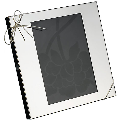 buy vera wang for wedgwood love knots photo frame online at johnlewiscom