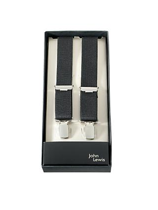 John Lewis & Partners Narrow Braces, One Size