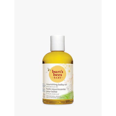 Buy Burt S Bees Baby Bee Nourishing Baby Oil 100g John