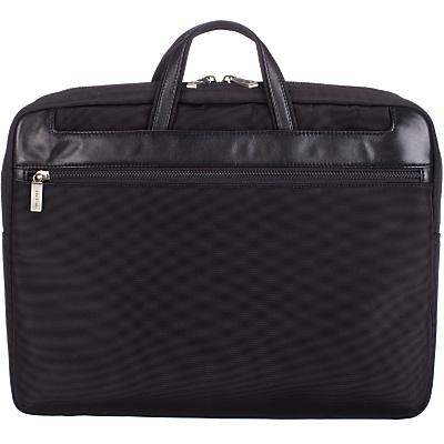 John Lewis Rome Laptop Bag, Black, 15 Inch