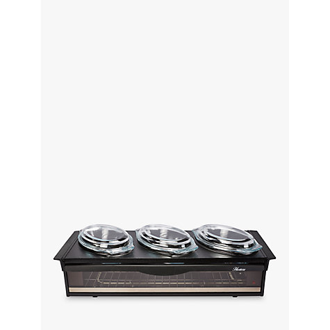 Buy Hostess H0392BL Black Side Server Online at johnlewis.com