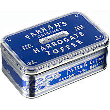 Buy Farrah's Original Harrogate Toffee Tin, 350g Online at johnlewis.com