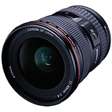 Buy Canon EF 17 40mm f/4.0L USM Standard Lens Online at johnlewis.com