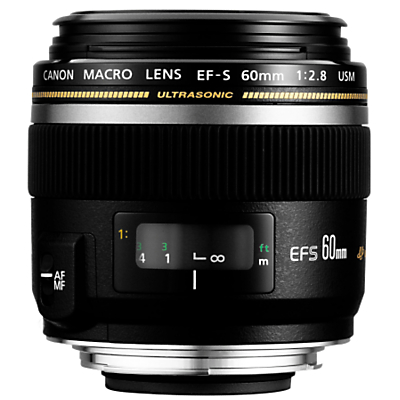 Product photo of Canon efs 60mm f 2 8 usm macro lens