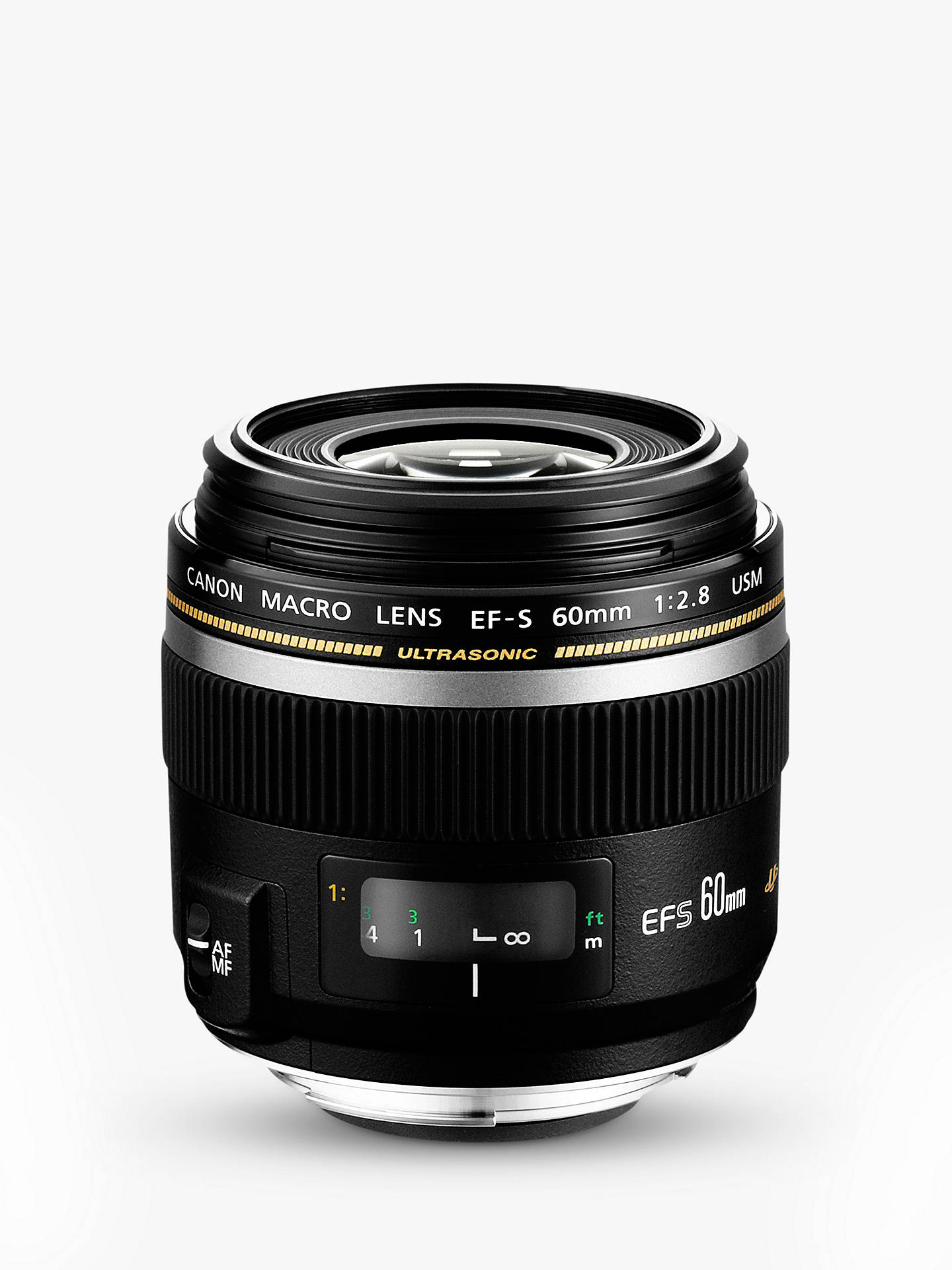 Buy Canon EF-S 60mm f/2.8 USM Macro Lens Online at johnlewis.com