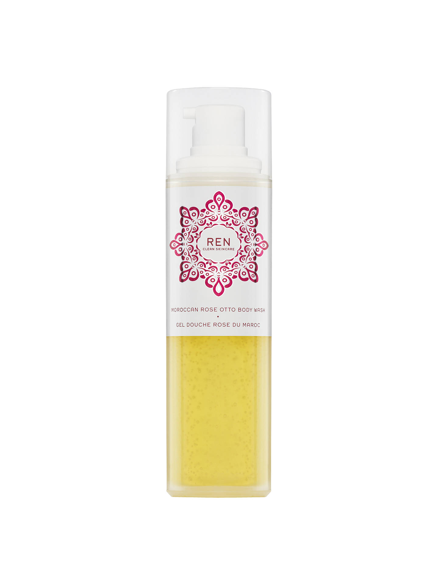 Buy REN Clean Skincare Moroccan Rose Otto Body Wash, 200ml Online at johnlewis.com