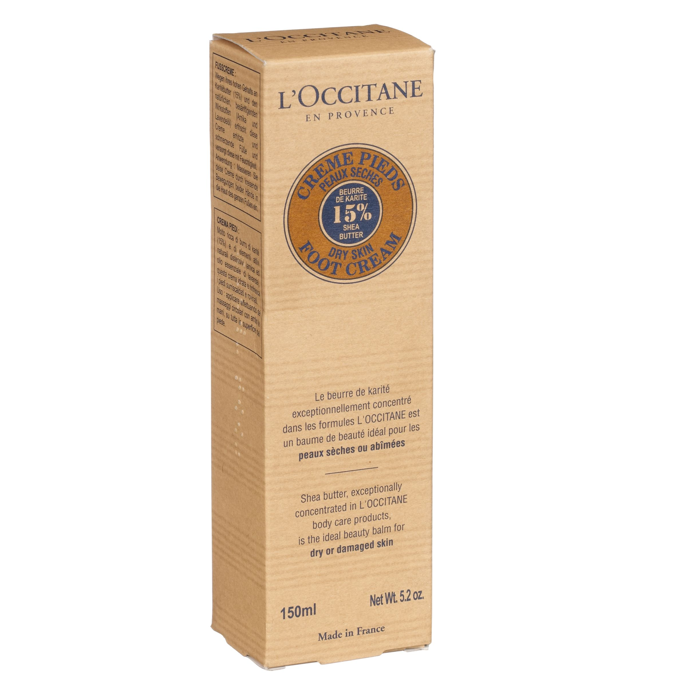 L'Occitane L'Occitane Shea Butter Foot Cream, 150ml