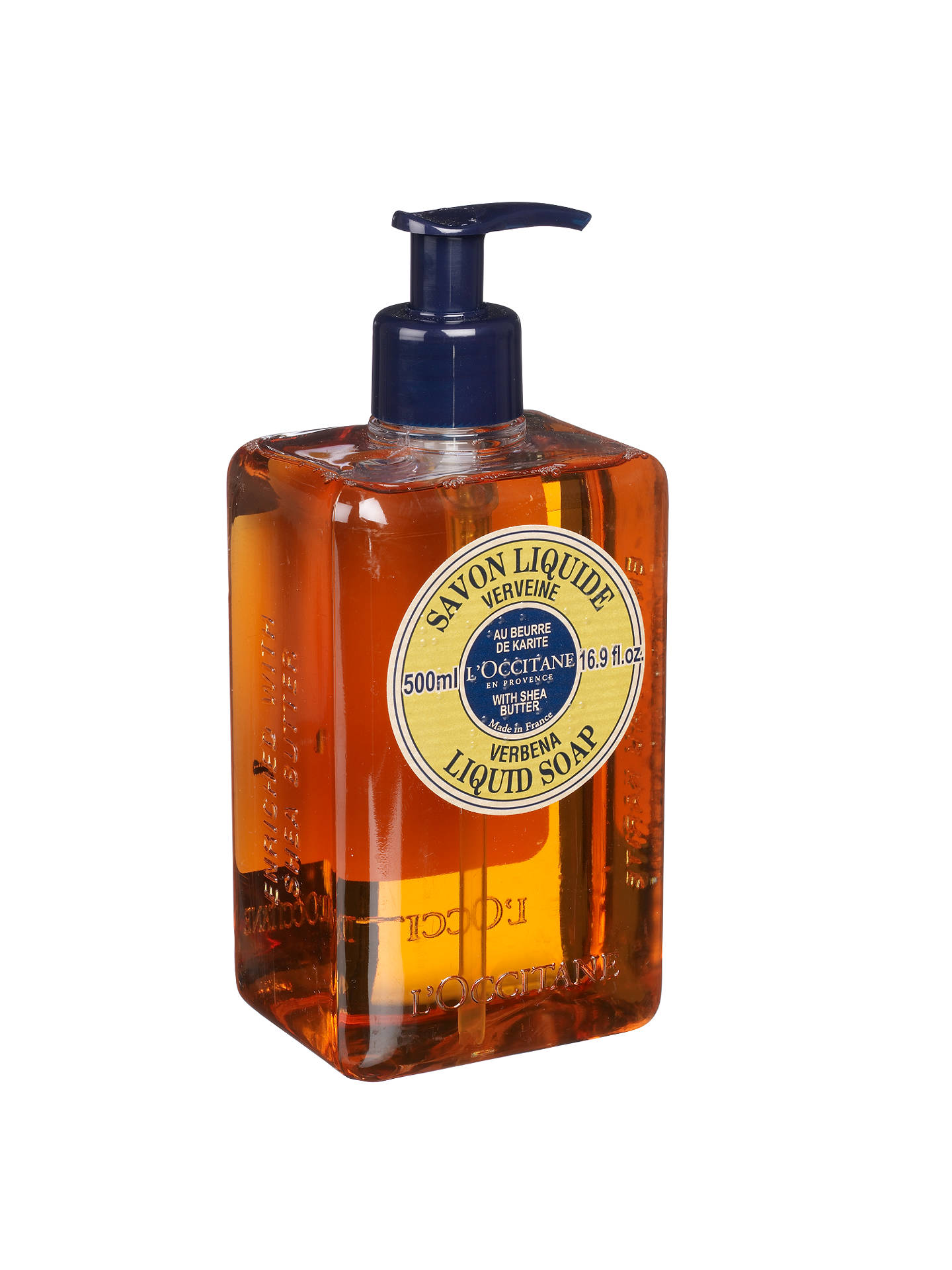 BuyL'Occitane Verbena Liquid Soap, 500ml Online at johnlewis.com