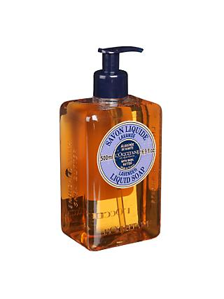 L'Occitane Shea Butter Liquid Soap, Lavender