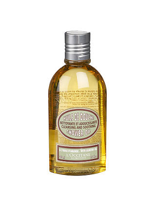 Buy L'Occitane Almond Shower Oil, 250ml Online at johnlewis.com