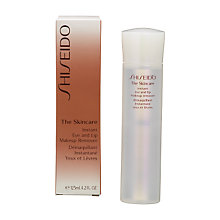 Buy Shiseido The Skincare Eye and Lip Makeup Remover, 125ml Online at johnlewis.com