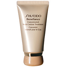 Buy Shiseido Benefiance Concentrated Neck Contour Treatment, 50ml Online at johnlewis.com