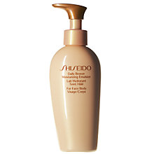 Buy Shiseido Daily Bronze Moisturising Emulsion, 150ml Online at johnlewis.com