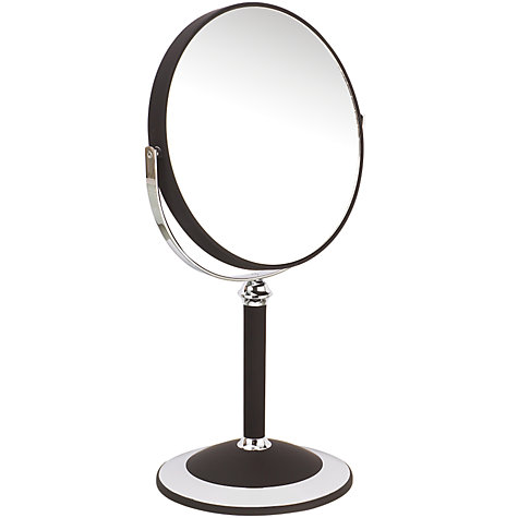 Buy John Lewis 7x Magnification Shaving Mirror, Black Online at johnlewis.com