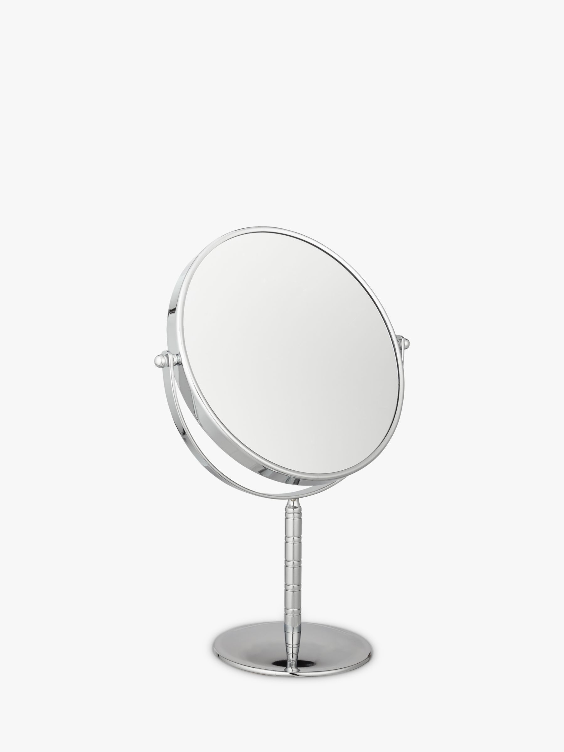 Chrome Stand 7 X Magnifying Mirror