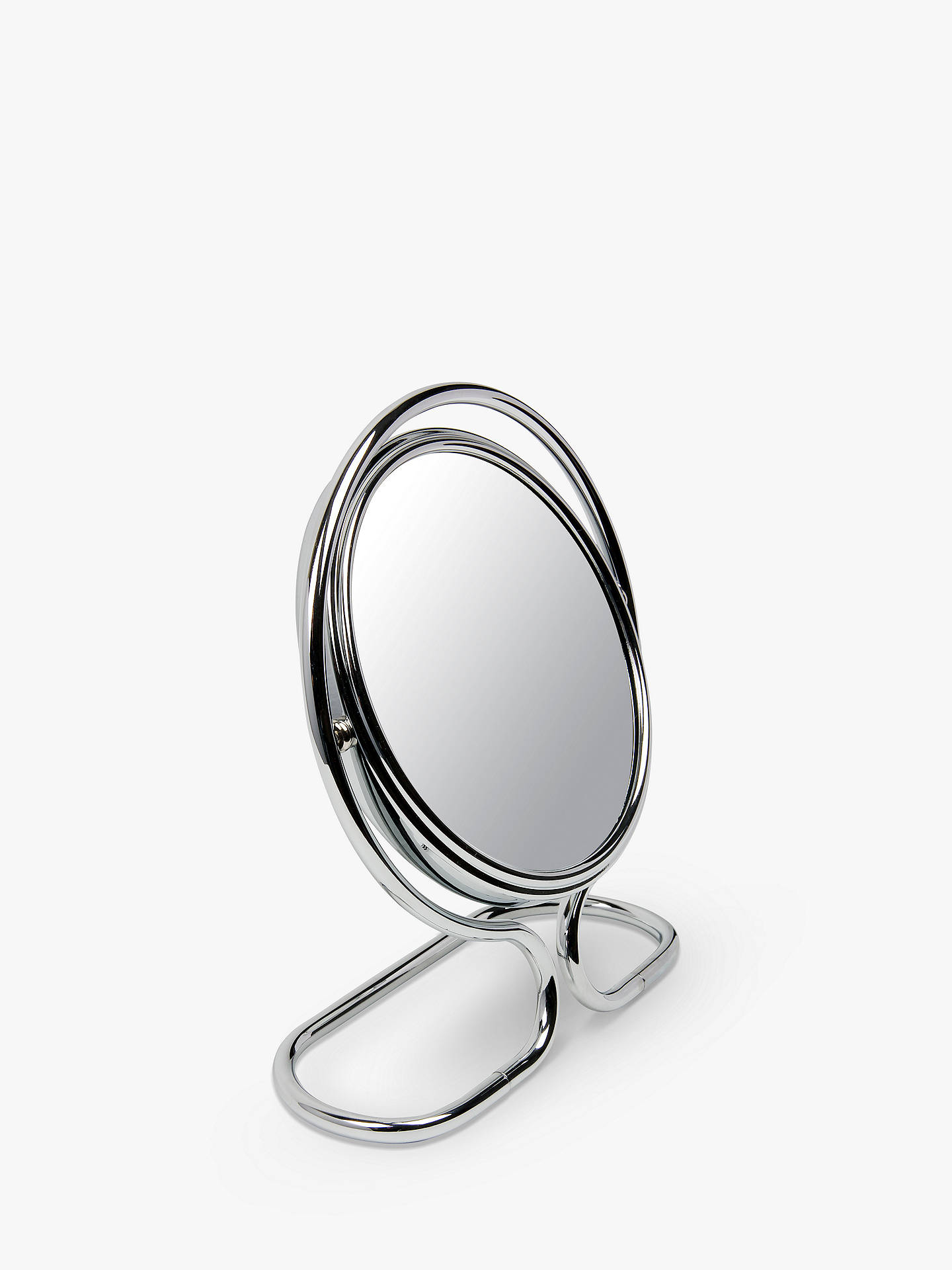 Buy John Lewis & Partners Shaving 10 x Magnifying Mirror, Chrome Online at johnlewis.com