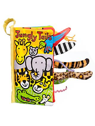 Jellycat Jungly Tails Children's Soft Book