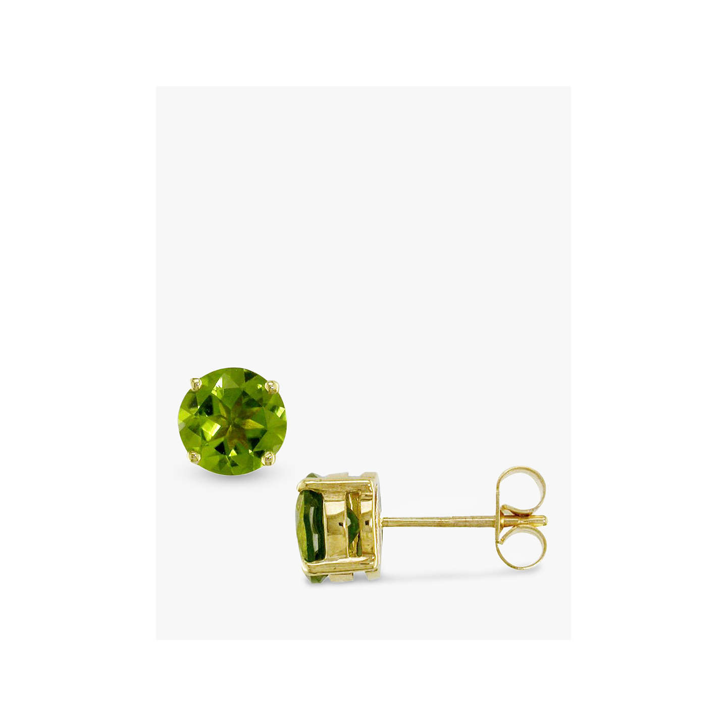 solid property stud yellow l earrings peridot room gold