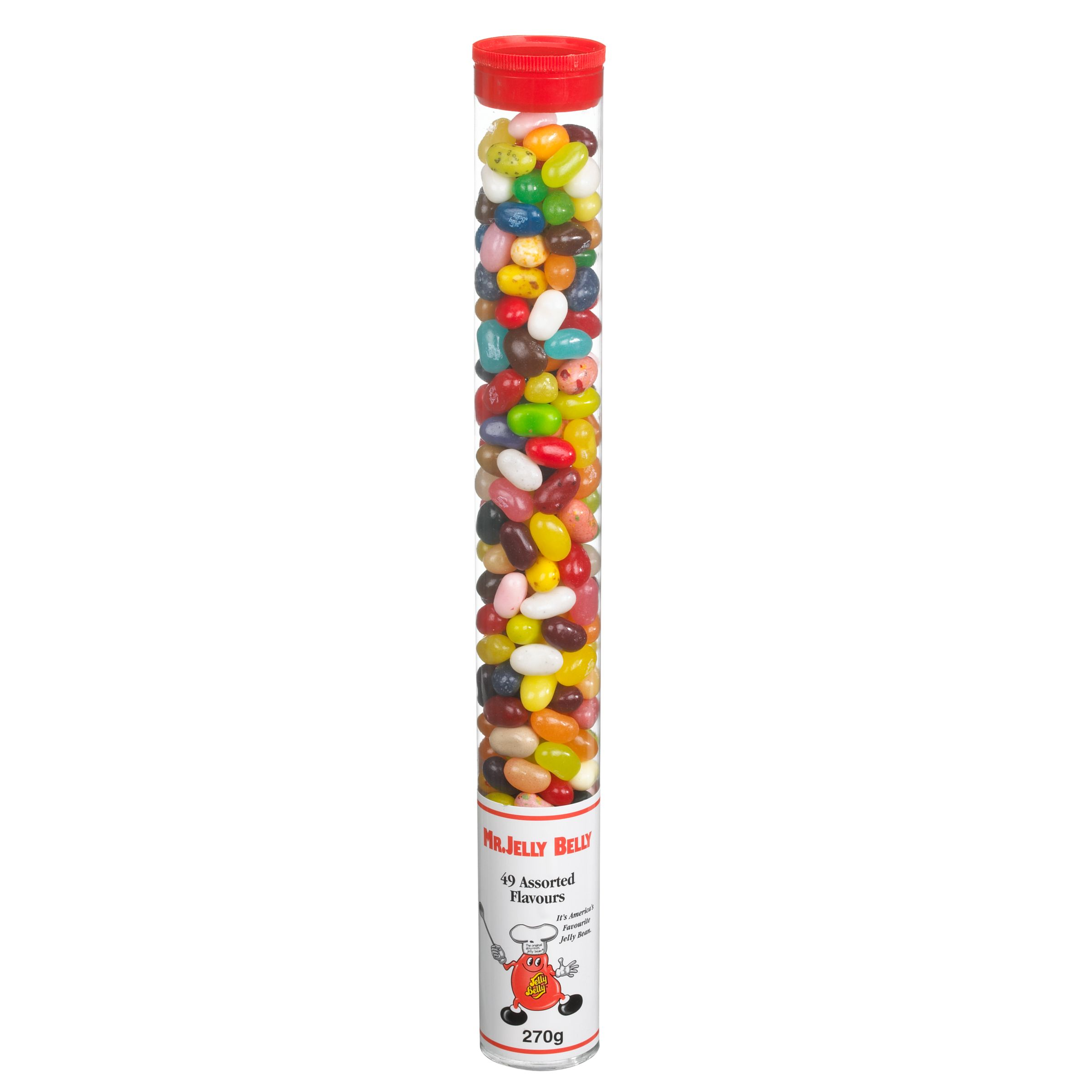 Jelly Belly Jelly Belly Assorted Chunky Tube, 270g