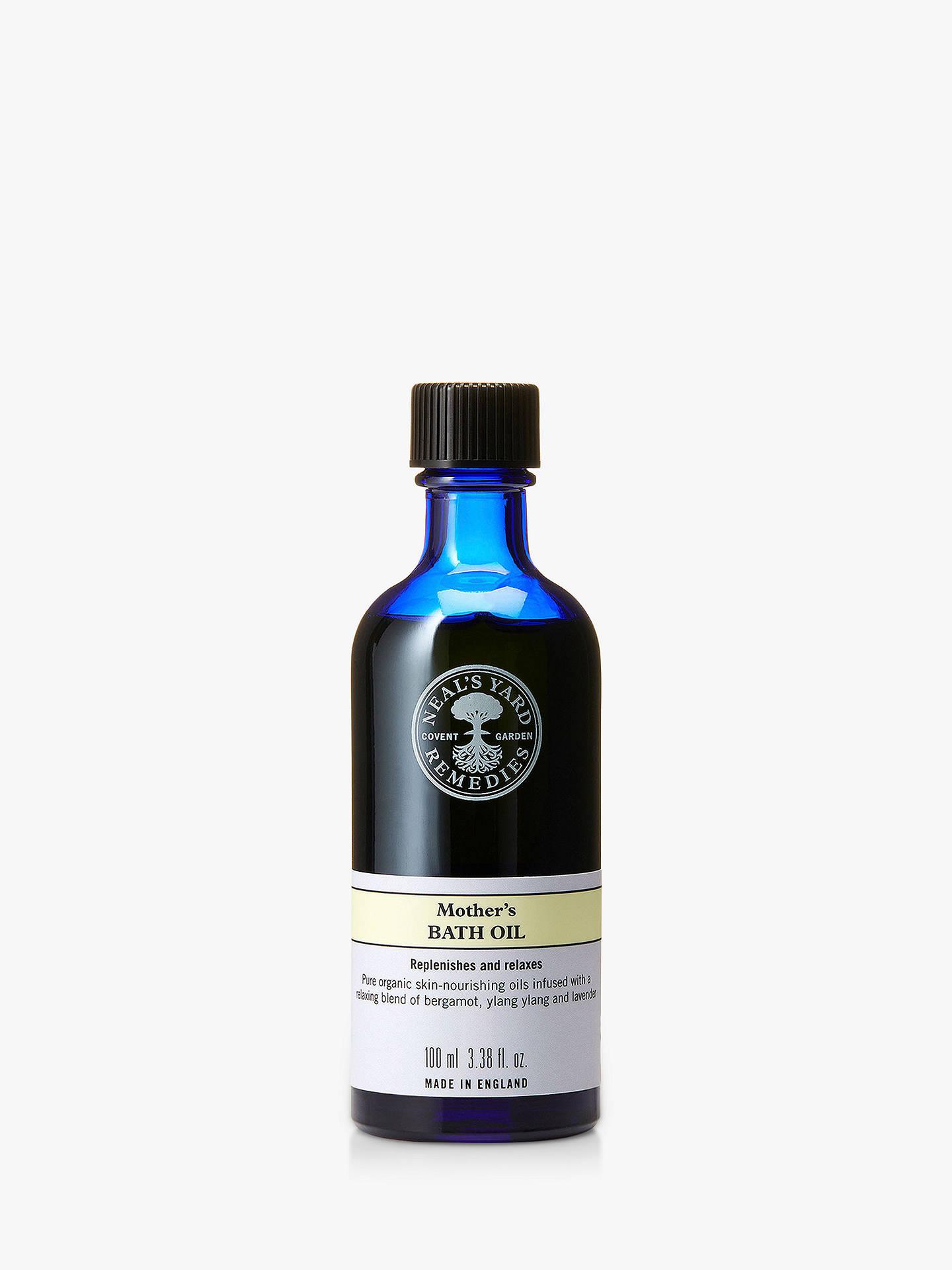 Neal's Yard Remedies Organics Mother's Bath Oil