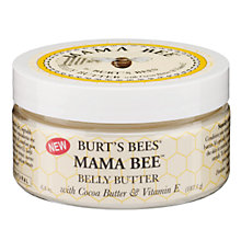 Buy Burt's Bees Mama Bee Belly Butter, 187.1g Online at johnlewis.com