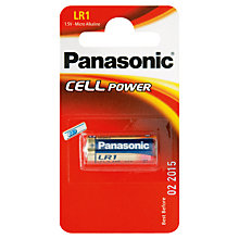 Buy Panasonic LR1 Alkaline Battery Online at johnlewis.com