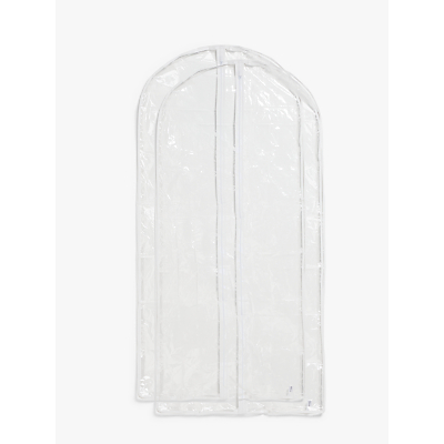 John Lewis & Partners Transparent Long Clothes Covers, Pack of 2