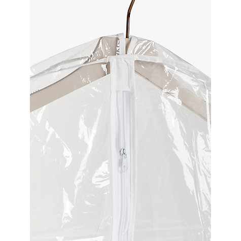Buy John Lewis Transparent Long Clothes Covers, Pack of 2 Online at johnlewis.com