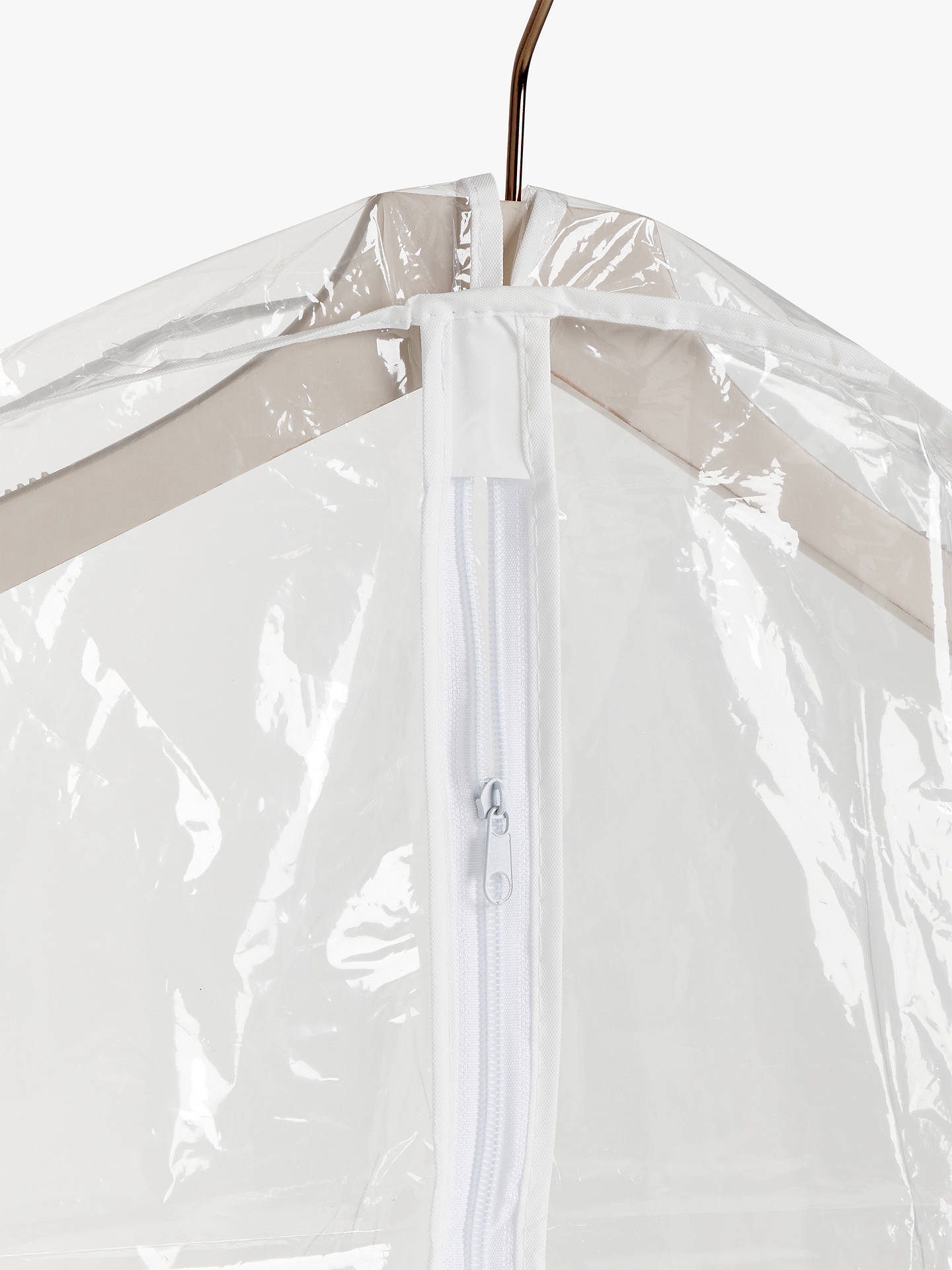 Buy John Lewis & Partners Transparent Long Clothes Covers, Pack of 2 Online at johnlewis.com
