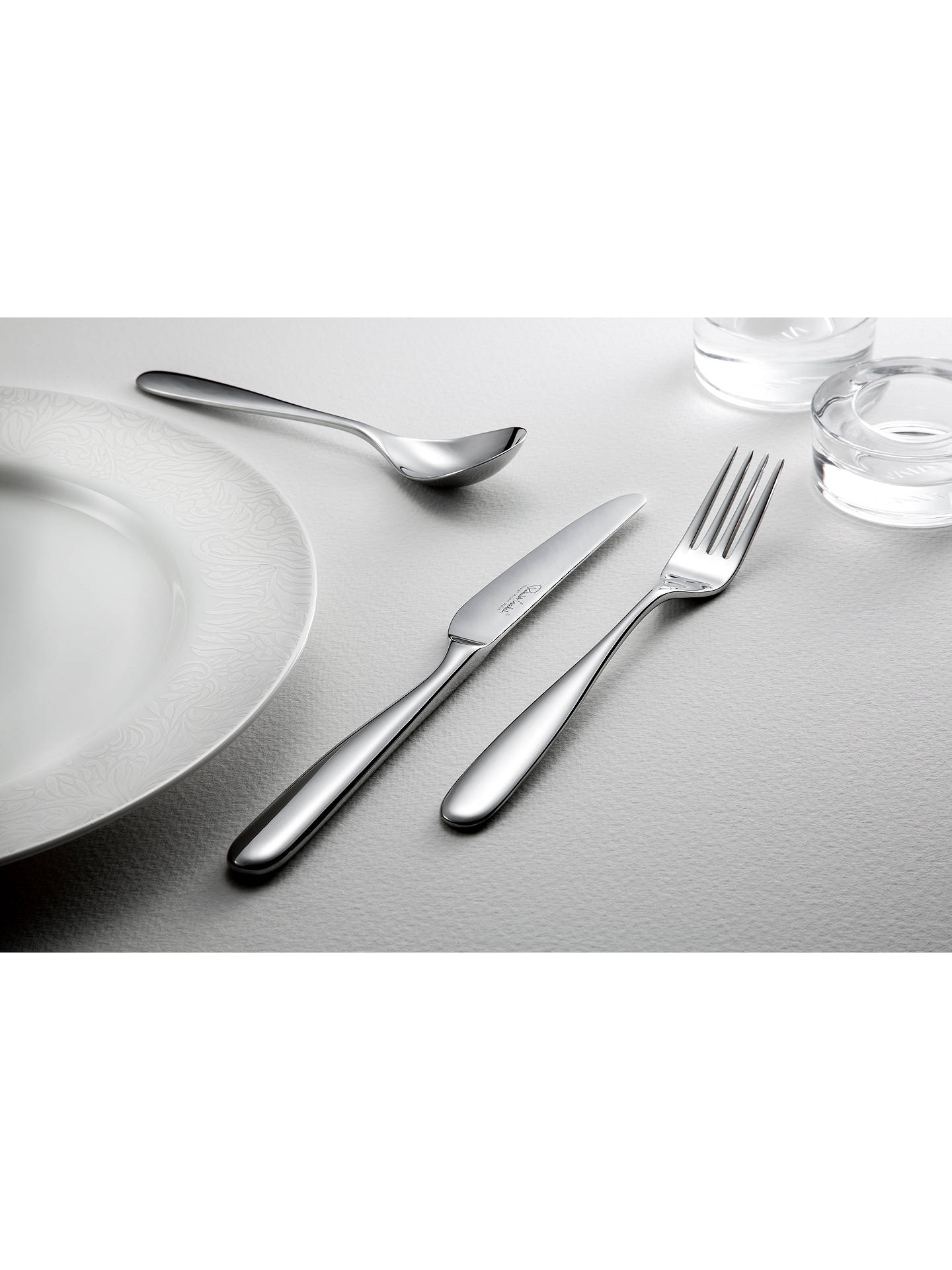 Buy Robert Welch Stanton Soup Spoon Online at johnlewis.com