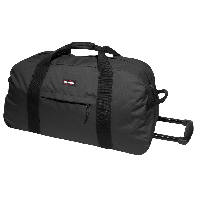1e780369b26 Eastpak Container 85 Wheeled Duffle Bag, Black at John Lewis & Partners