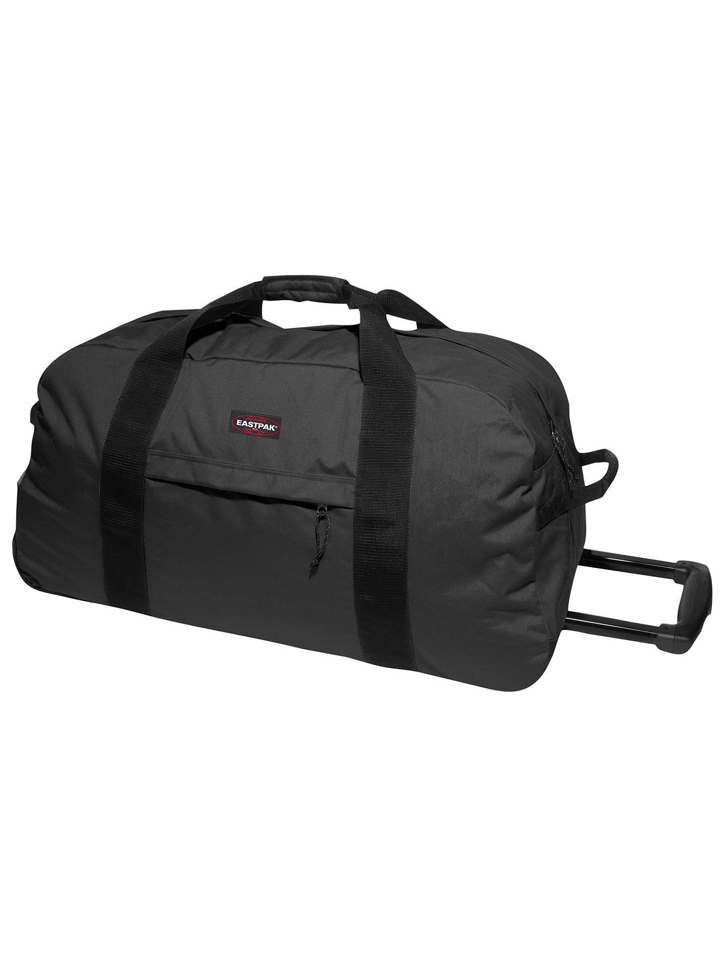 e759cd0c4 Buy Eastpak Container 85 Wheeled Duffle Bag, Black Online at johnlewis.com  ...