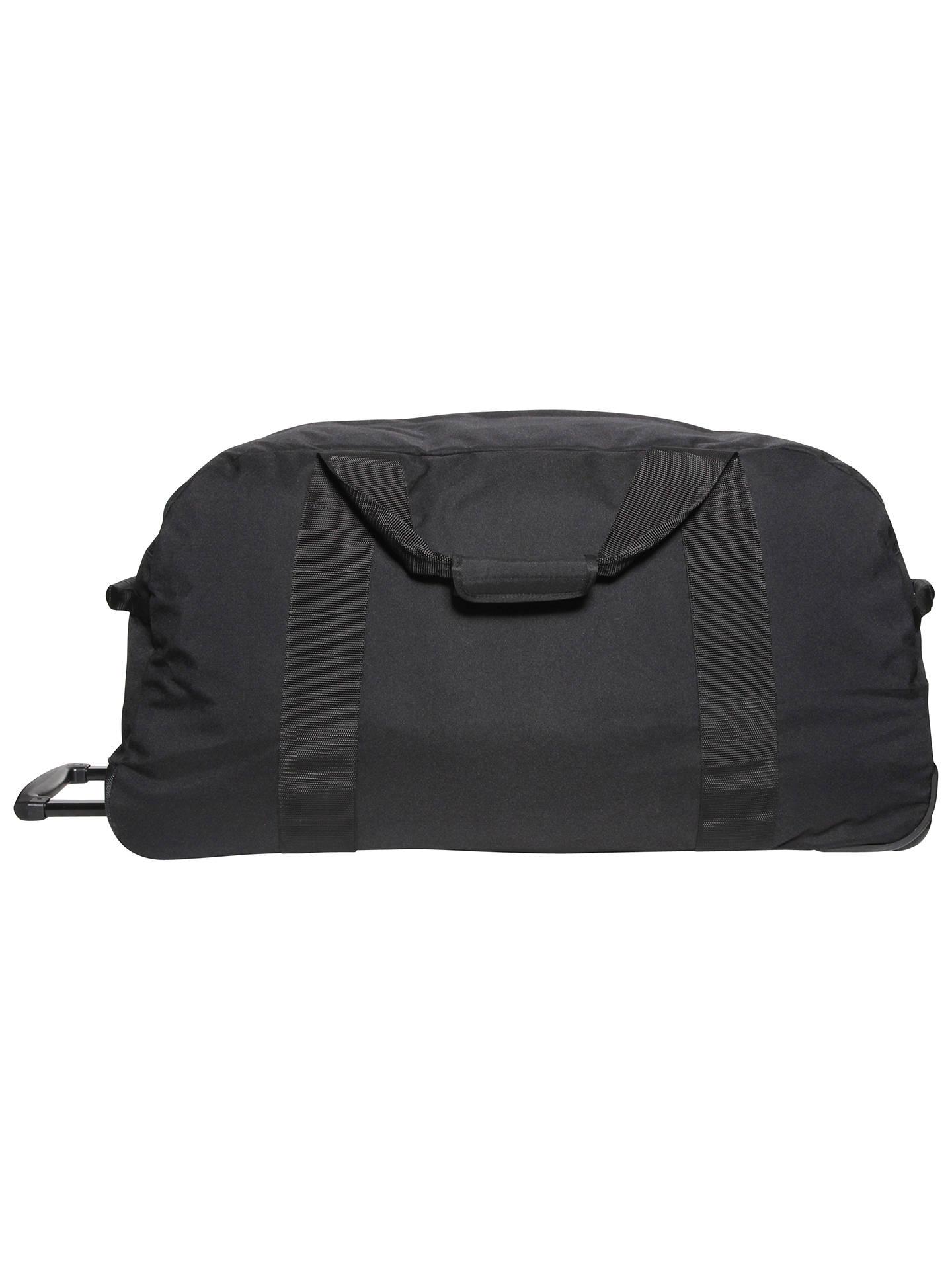2ea53df6ec8 ... Buy Eastpak Container 85 Wheeled Duffle Bag, Black Online at  johnlewis.com