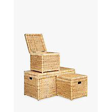 Buy John Lewis Water Hyacinth Storage Online at johnlewis.com