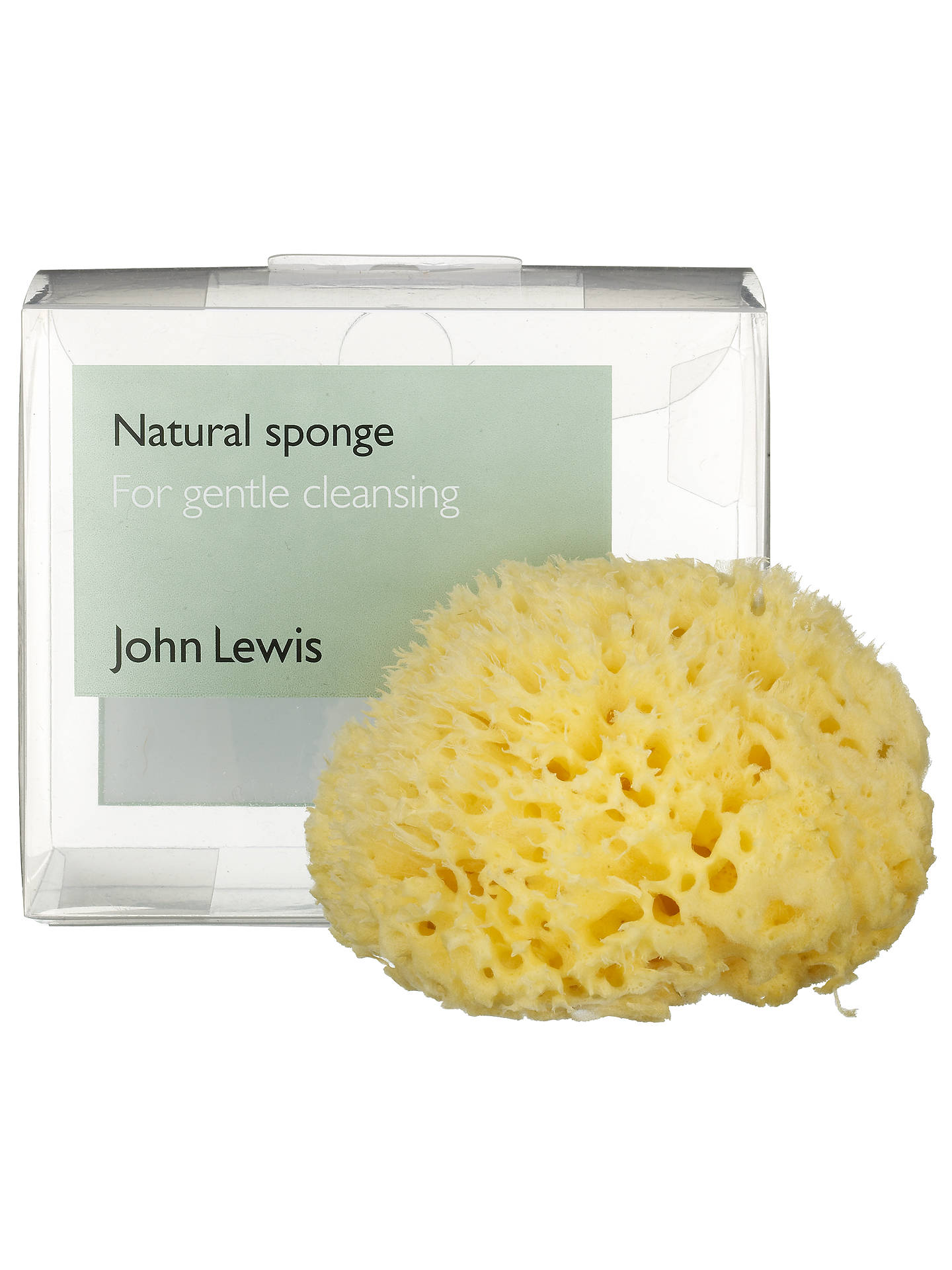 Buy John Lewis Natural Sea Sponge Online at johnlewis.com