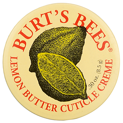 Product photo of Burt s bees lemon butter cuticle creme 17g