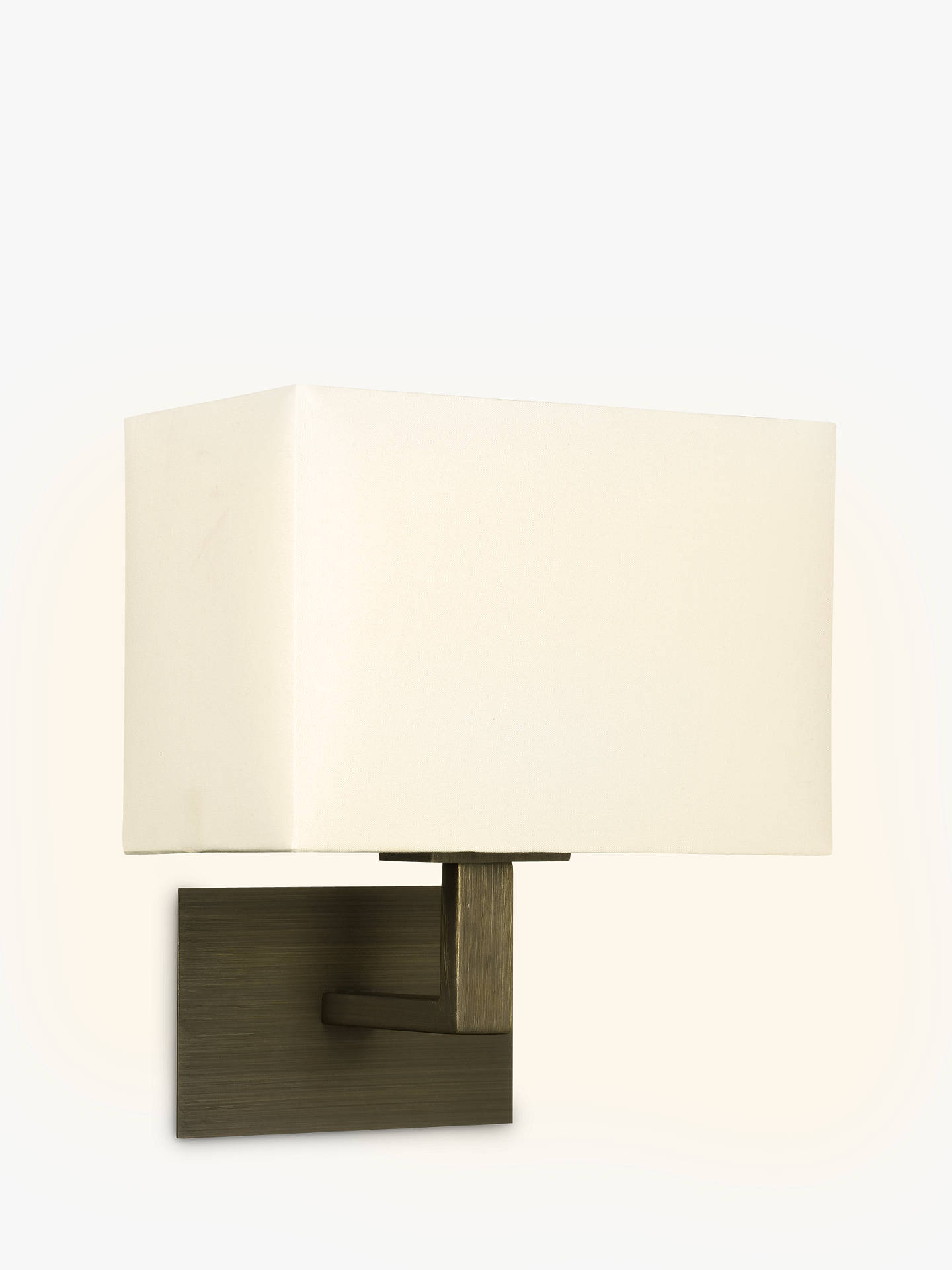 Buy Astro Connaught Wall Light, Bronze Online at johnlewis.com