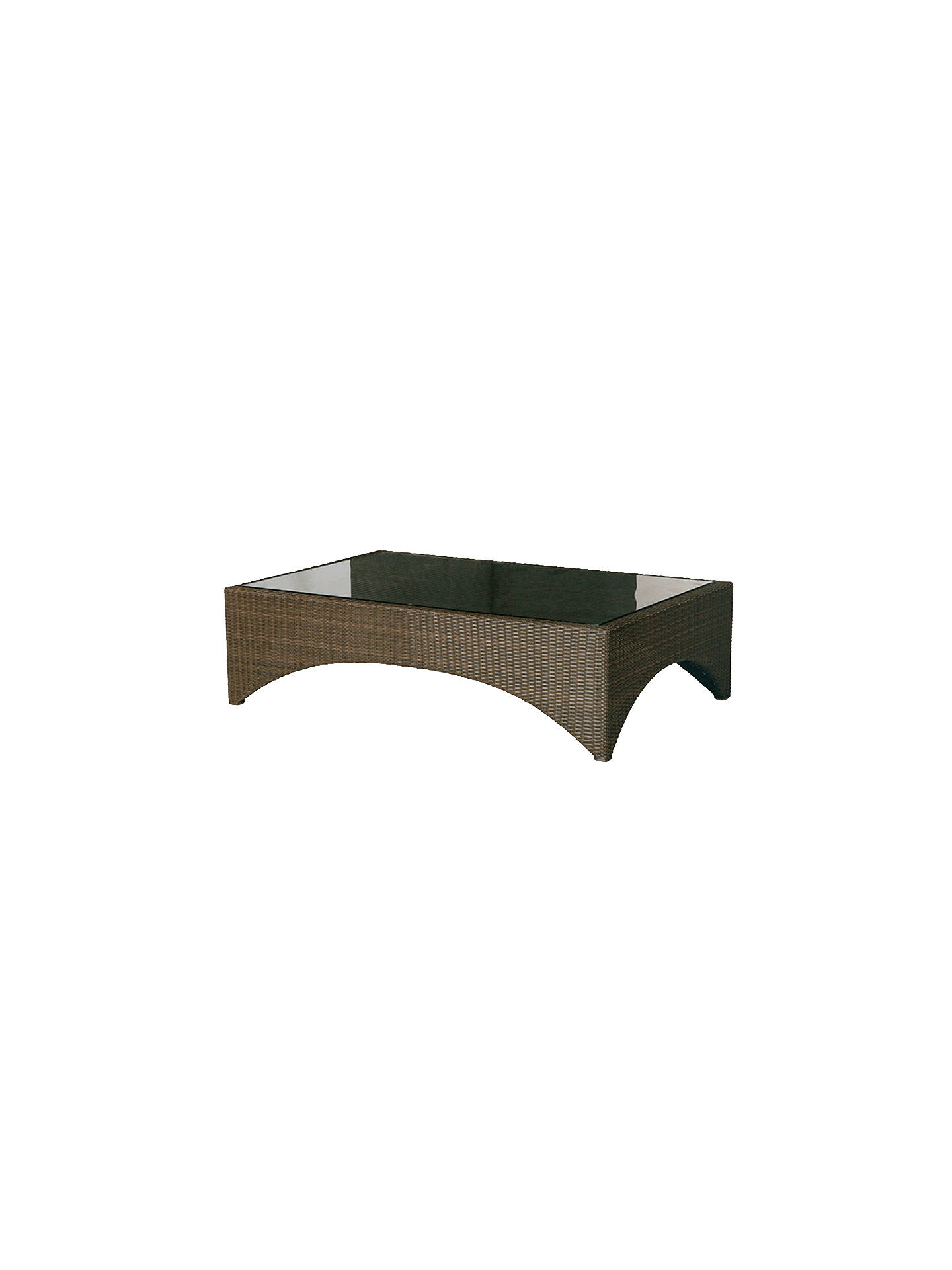 BuyBarlow Tyrie Savannah Rectangular 6-Seat Garden Coffee Table Online at johnlewis.com