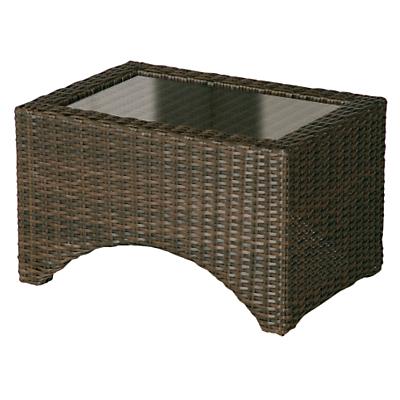 Barlow Tyrie Savannah Rectangular 2-Seat Outdoor Lounger Table