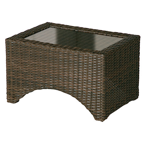 Buy Barlow Tyrie Savannah Rectangular 2-Seat Outdoor Lounger Table Online at johnlewis.com