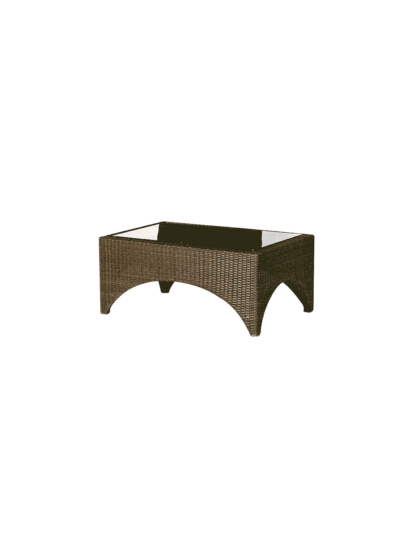 BuyBarlow Tyrie Savannah Rectangular 2-Seater Garden Coffee Table Online at johnlewis.com
