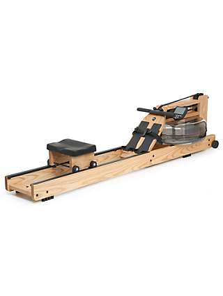 WaterRower Natural Rowing Machine with S4 Performance Monitor, Ash