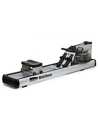 WaterRower M1 LoRise Rowing Machine with S4 Performance Monitor