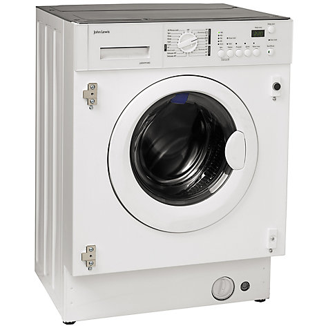 Buy John Lewis Jlbiwm1402 Integrated Washing Machine 6kg Load A Energy Rating 1400rpm Spin